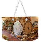 Tuscan Pottery Weekender Tote Bag