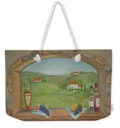 Tuscan Window View Weekender Tote Bag