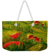 Tuscany At Dawn Weekender Tote Bag by Eloise Schneider