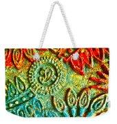Tuscany Batik Weekender Tote Bag
