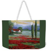 Tuscany Fields Weekender Tote Bag