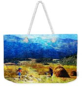Tusheti Hay Makers I Weekender Tote Bag