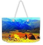 Tusheti Hay Makers IIi Weekender Tote Bag