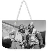 Tuskegee Airmen Weekender Tote Bag by War Is Hell Store