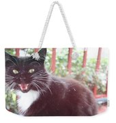 Can You Hear Me Meow? Weekender Tote Bag