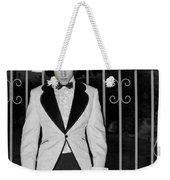Tuxedo Vampire Weekender Tote Bag