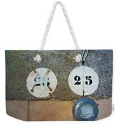 Twenty Five Weekender Tote Bag