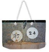 Twenty Four Weekender Tote Bag