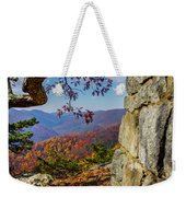 Twenty Minute Cliff Blue Ridge Parkway I Weekender Tote Bag