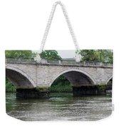 Twickenham Bridge Spans The Thames Weekender Tote Bag