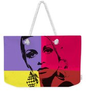 Twiggy Pop Art 1 Weekender Tote Bag