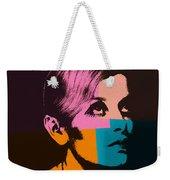 Twiggy Pop Art 2 Weekender Tote Bag