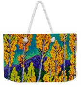 Twilight Aspens Weekender Tote Bag