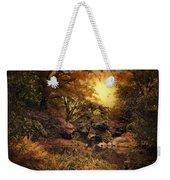 Twilight Autumn Garden Weekender Tote Bag