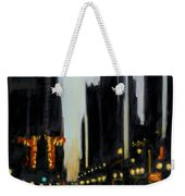 Twilight In Chicago Weekender Tote Bag