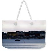 Twilight In The Harbor At Skerries Weekender Tote Bag