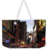 Twilight In The Streets Weekender Tote Bag