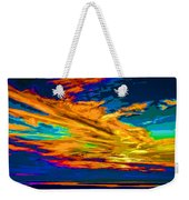 Twilight Of The Day Weekender Tote Bag