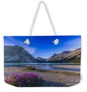 Twilight On Bow Lake, Banff National Weekender Tote Bag