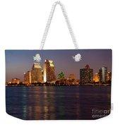 Twilight On San Diego Harbor Weekender Tote Bag