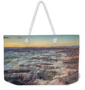 Twilight Over The Painted Desert Weekender Tote Bag