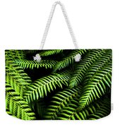 Twilight Rainforest Fern  Weekender Tote Bag