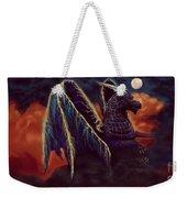 Twilight Storm Dragon Weekender Tote Bag