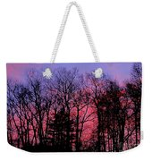 Twilight Trees Weekender Tote Bag
