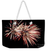 Twin Burst Weekender Tote Bag