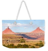 Twin Buttes Weekender Tote Bag