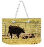 Twin Calves Weekender Tote Bag