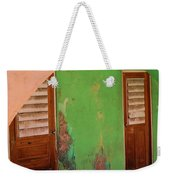 Twin Doors Weekender Tote Bag