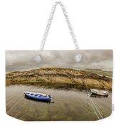 Twin Fishing Boats Weekender Tote Bag