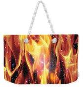 Twin Flames Weekender Tote Bag