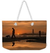 Twin Lakes Sunset Reflected Weekender Tote Bag