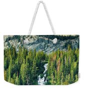 Twin Lakes Waterfall Weekender Tote Bag