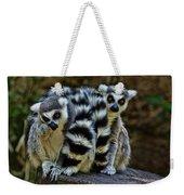Twin Lemurs Weekender Tote Bag