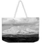Twin Peaks Black And White Panorama Weekender Tote Bag
