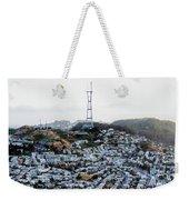 Twin Peaks In San Francisco Aerial Photo Weekender Tote Bag