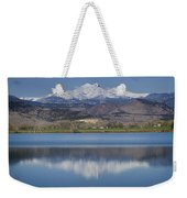 Twin Peaks Mccall Reservoir Reflection Weekender Tote Bag by James BO  Insogna