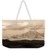 Twin Peaks Sepia Panorama Weekender Tote Bag