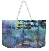 Twin Pines Weekender Tote Bag