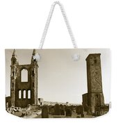 Twin Turrets And St. Rule's Tower Weekender Tote Bag