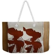 Twins - Tile Weekender Tote Bag
