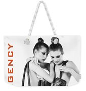Twins Model Agency Weekender Tote Bag by ISAW Company