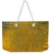 Twirl Art Yellow  Weekender Tote Bag