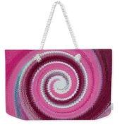 Twirl Pink  Weekender Tote Bag