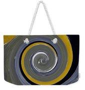 Twirl Yellow  Weekender Tote Bag