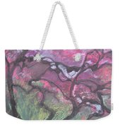 Twisted Cherry Weekender Tote Bag