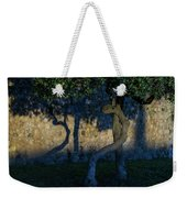 Twisted Early Morning Shadows Weekender Tote Bag